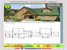 mountain view all american modular home home relaxed living