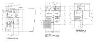 Floor Plan Residential by Storey W Roof Deck Residential Bldg Floor Plans Residential