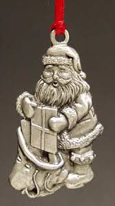 Wallace Wallace Pewter Christmas Ornament At Replacements Ltd