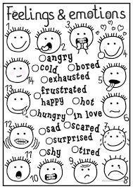 631 free esl feelings emotions worksheets