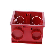 86 type pvc 83x78x50mm cable wire connector gland electrical red
