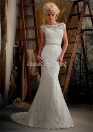 high neck low back lace wedding dress naf dresses