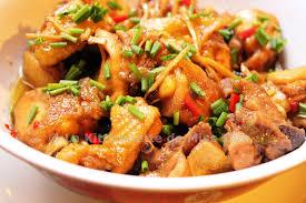 cuisine au gingembre poulet au gingembre gà ram gừng la kitchenette de miss tâmla