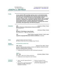 Resume Builder For Students Free Example Of Resume Resume Example And Free Resume Maker