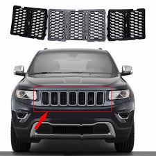 jeep suv 2016 black 3x suv black front grill mesh grille insert cover for jeep grand