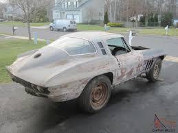 corvette project cars chevy corvette coupe project car