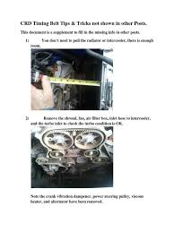 jeep liberty diesel tips on changing crd timing belt tips belt