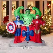 christmas inflatables outdoor marvel assemble christmas inflatables outdoor airblown 6