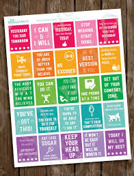 printable weight loss quotes fitness planner stickers printable workout motivational