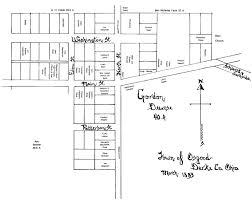 Blacksmith Shop Floor Plans by Osgood Patterson Twp Darke Co Ohio