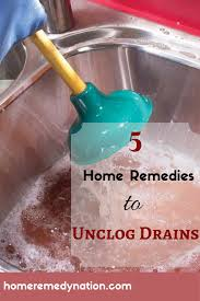 fixing a clogged drain 5 home remedies to fix clogged drains without using any nasty