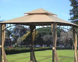 gazebo covers awning 10 x gazebo metal steel roof outdoor patio pergola canopy