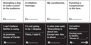 cards against humanity for sale house of cards against humanity expansion pack the sue