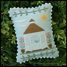 Country Cottage Needlework by Country Cottage Needleworks Main Street Gazebo Cross Stitch