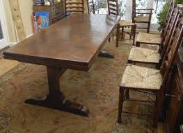 10 ft farmhouse table 10 ft english oak farmhouse table extender for sale with regard to