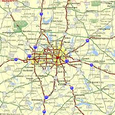 map of dallas fort worth map of dallas fort worth vacations travel map