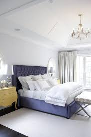 bombay bedding yellow and blue bedroom with yellow bombay chests as nightstands