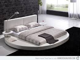 Circular Bed Frame 15 Fashionable Platform Beds Platform Beds Rounding And