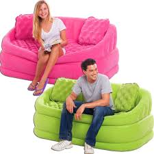 Inflatable Chair And Ottoman by Intex Cafe Loveseat Chair Inflatable Gaming Lounge Sofa Dorm Chair
