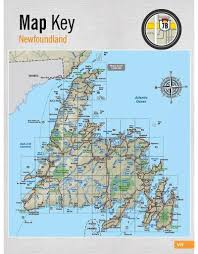 Newfoundland Map Backroad Mapbooks Newfoundland U0026 Labrador Premier Ed Spiral Bound