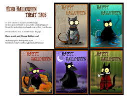 echo halloween goodies celeste gagnon illustrations
