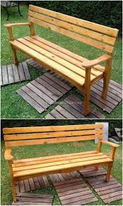 recycle and reuse ideas for used wood pallets wood pallet furniture