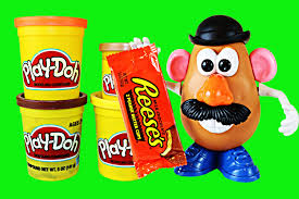 Potato Head Kit Toy Story Play Doh Candy Reeses Peanut Butter Cup Tutorial Toy Story