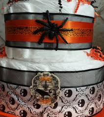 Spider Halloween Cakes by Halloween Skeleton Spider Diaper Cake 209 Diaper Cakes U0026 Gifts