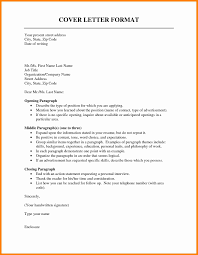 effective cover letter format cover letter outline template elegant covering letter formats 64