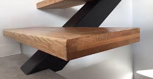 limon d escalier en bois escaliers acier bois sur mesure palmarini
