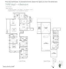 one balmoral official new launch hotline 65 6639 2567 one balmoral floorplan 4bed a