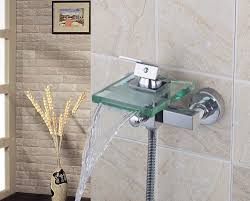 Bath Handheld Shower Online Shop Luxury 8200 Bath Shower Faucets Square Wall Mounted