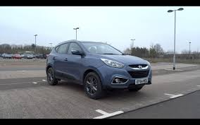 hyundai crossover 2014 2014 hyundai ix35 1 7 crdi 114 2wd se nav start up and full