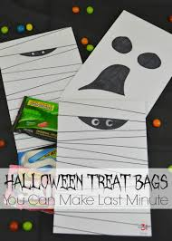 halloween treat bags you make last minute organized 31