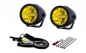 led driving lights automotive piaa 22 02772 lp270 ion yellow 2 75 led driving light kit quadratec