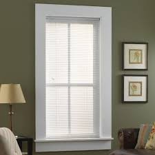Home Depot Faux Wood Blinds Instructions Custom Blinds Window Treatments The Home Depot