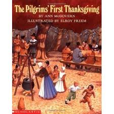 pilgrims book the pilgrims thanksgiving by mcgovern