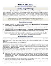 It Support Engineer Resume Sample by Desktop Support Technician Resume Resume Sample Used Car Sales Manager