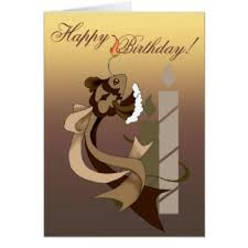 funny fish birthday greeting cards zazzle co nz