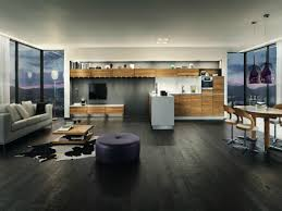 modern open plan apartments