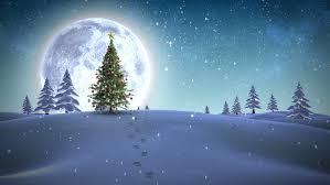 hd beautiful animated light snow falling