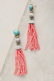 Deal Alert Miguel Ases Women Artemis Tassel Drop Earrings By Anthropologie Anthropologie Us