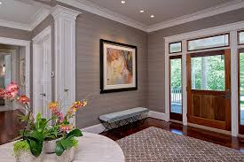 Entry Table Ls 25 Gorgeous Entryways Clad In Wallpaper