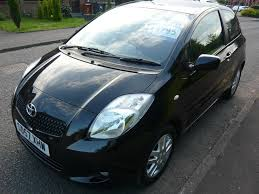 toyota yaris 2007 black 2007 toyota yaris 1 3 vvt i tr black 3dr hatchback petrol manual