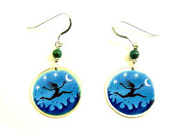 eco earrings free eco sterling silver earrings gaia