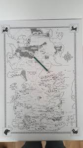 Interactive Westeros Map The Witcher U0027s Map Redrawn Tolkien Style Kotaku Uk