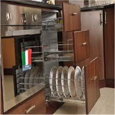 kitchen cupboard interior fittings kitchen pantry cabinet modular kitchen s velu and co chennai