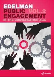 public engagement in the conversation age vol 2 2009