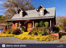 a ranch house in rural arkansas usa stock photo royalty free