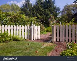 kitchen garden with white fence 2017 including the art of
